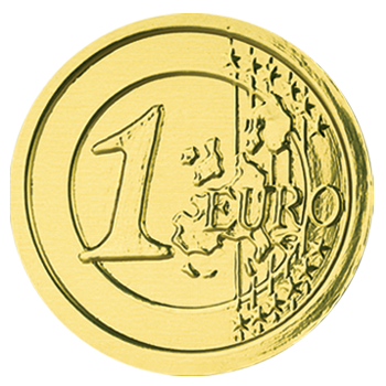 "Chocolate coins ""Euro"""