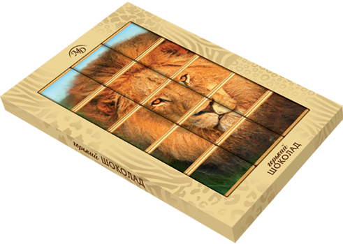 """Animals Puzzle"" set 75gm"