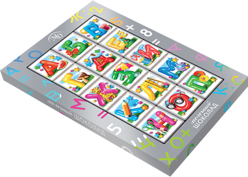 """Learning Choco-puzzle"" set 75gm"