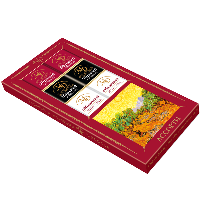 """Assorted chocolates"" case 50gm"