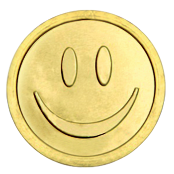 "Chocolate coins ""Smiley"""