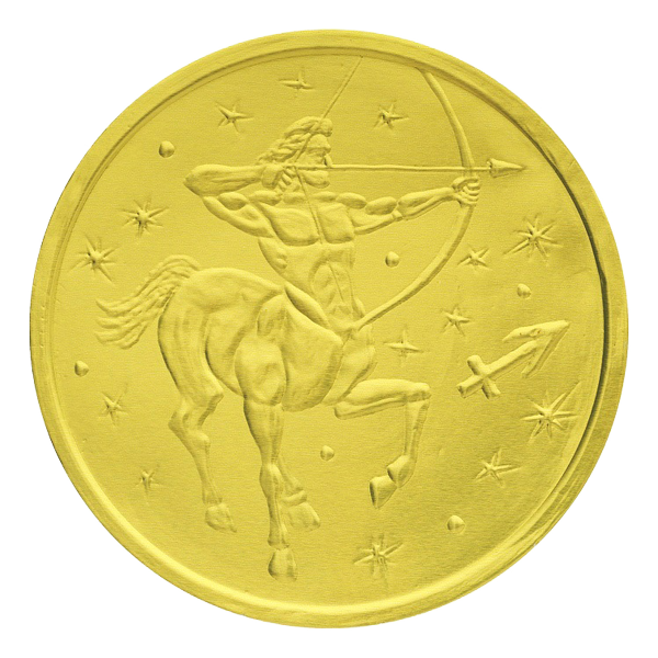 "Chocolate coins ""Zodiac Signs"""