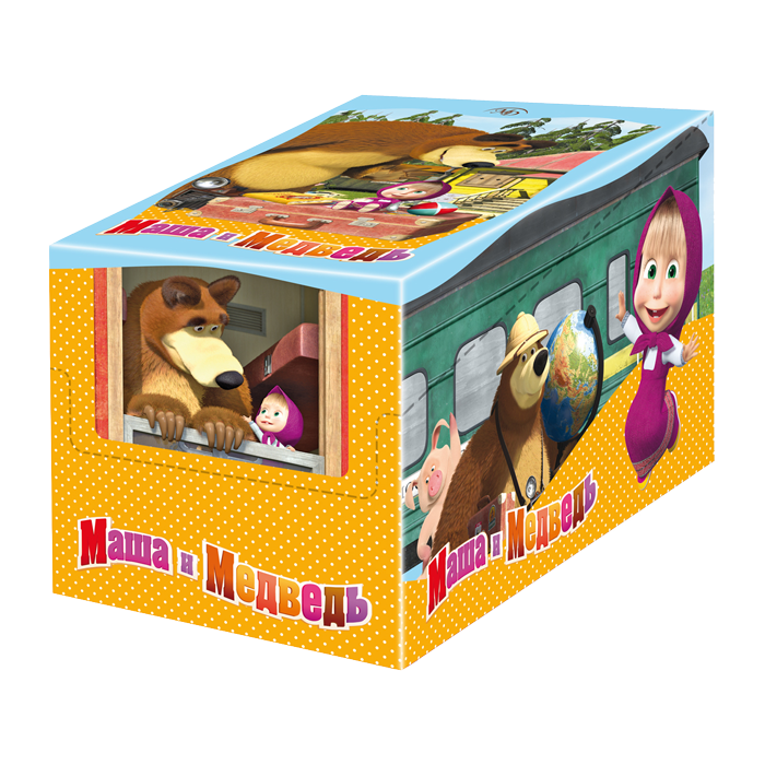 String bag «Masha and the Bear» 60gm/35 pcs