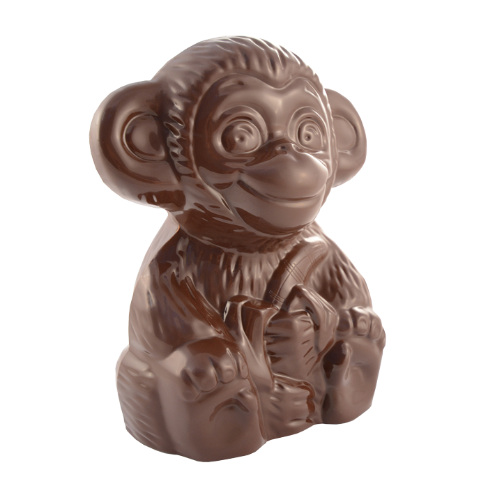 "Figure ""Monkey with a Banana"" 300gm"
