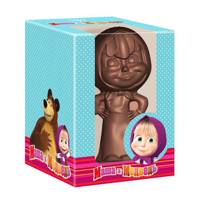 Choco-figure «Masha» 75gm