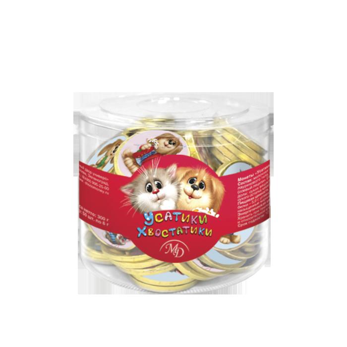Chocolate coins «Usatiki-Khvostatiki»