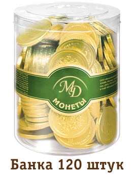 "Chocolate coins ""New Year"""